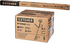 Триммер бензиновый Steher, 2.5 кВт / 3.3 л.с., 52 см3, (бензокоса) (BT-2500), фото 3