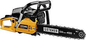 Бензопила STEHER (Штехер), 1.8 кВт/ 2.4 л.с., 400 мм (BS-45-40)