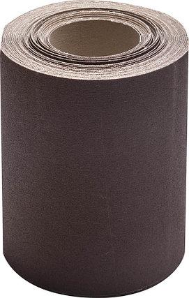 Шлифовальная шкурка, 200 мм x 20 м, №12, в рулоне, на тканевой основе (35503-12-200), фото 2