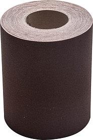 Шлифовальная шкурка, 200 мм x 20 м, №10, в рулоне, на тканевой основе (35503-10-200)