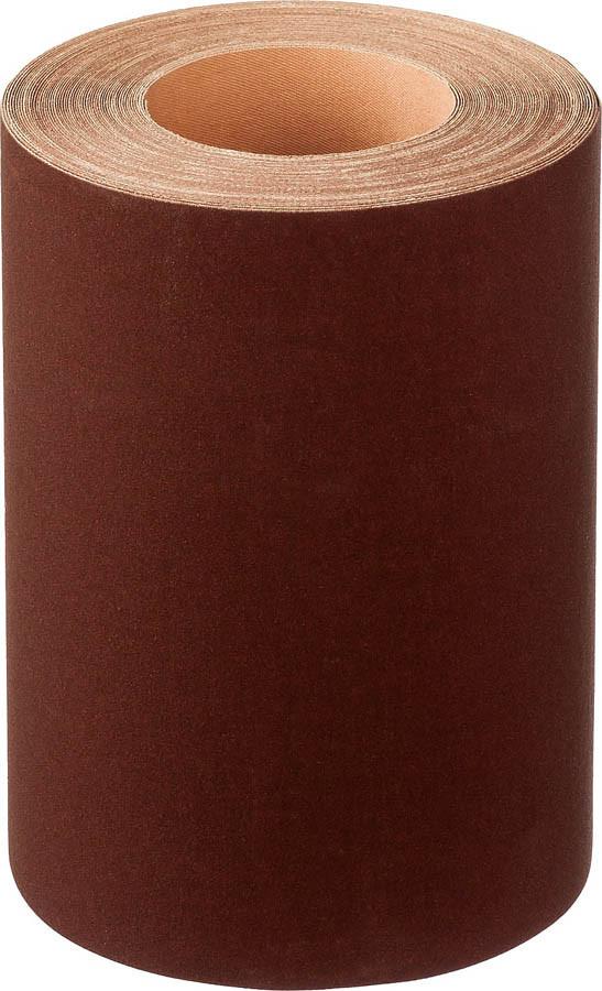 Шлифовальная шкурка, 200 мм x 20 м, №6, бобина, на тканевой основе, водостойкая (35503-06-200)