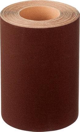 Шлифовальная шкурка, 200 мм x 20 м, №6, бобина, на тканевой основе, водостойкая (35503-06-200), фото 2