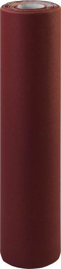 Шкурка шлифовальная ЗУБР, 800 мм х 30 м, Р120, в рулоне, на тканевой основе, водостойкая (35501-120)