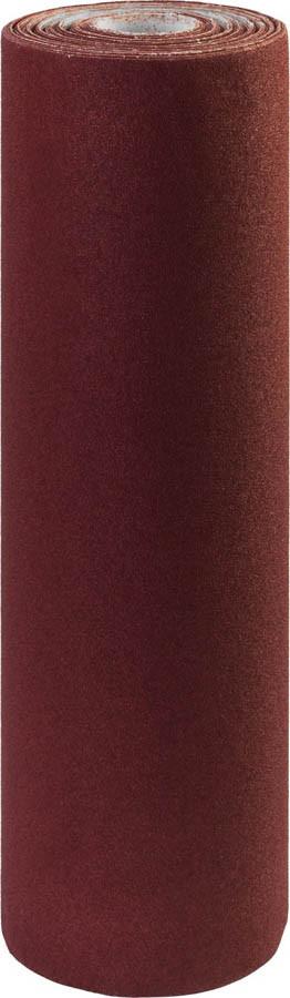 Шкурка шлифовальная ЗУБР, 800 мм х 30 м, Р40, в рулоне, на тканевой основе, водостойкая (35501-040)