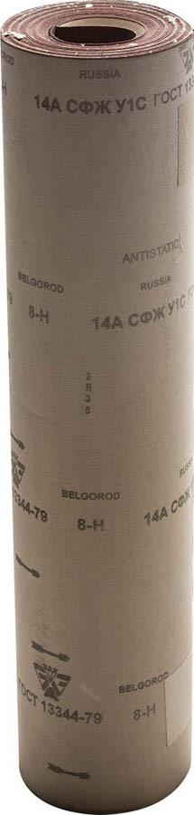 Шлифовальная шкурка, 800 мм x 30 м, № 8, в рулоне, на тканевой основе (3550-008_z01)
