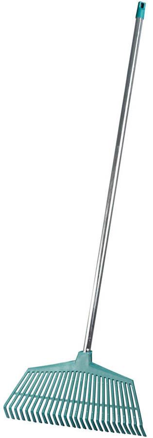Грабли веерные, Raco, 430 x 1050 мм, 26 зубцов, пластиковые, стальная ручка (4231-53/746)