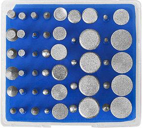 Набор мини-насадок для гравера ЗУБР, 50 шт., хвостовик Ø 3 мм (33383-H50)