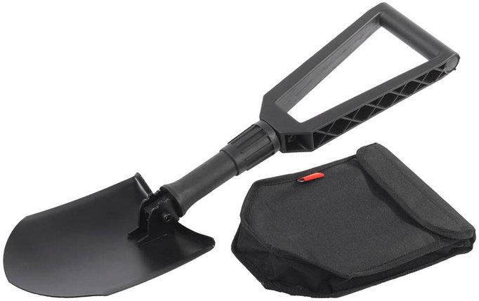Лопата складная, Grinda, 240х590 мм, туристическая, фиберглассовая рукоятка (8-421826_z01), фото 2