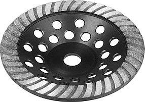 """Чашка ЗУБР, 180 мм, L- 22.2 мм, алмазная, сегментированная, серия """"Профессионал"""" (33371-180)"""