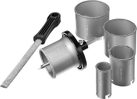 Набор кольцевых коронок Stayer, 8 шт: d=33-53-67-73-83 мм, карбид-вольфрамовое нанесение (33345-H8), фото 2