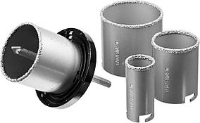 Набор кольцевых коронок Stayer, 6 шт: d=33-53-67-73 мм, карбид-вольфрамовое нанесение (33345-H6)