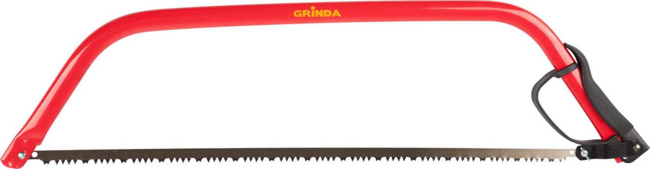 Пила лучковая по дереву, Grinda, длина полотна 760 мм, сталь, заточка полотна (1552-76_z01)