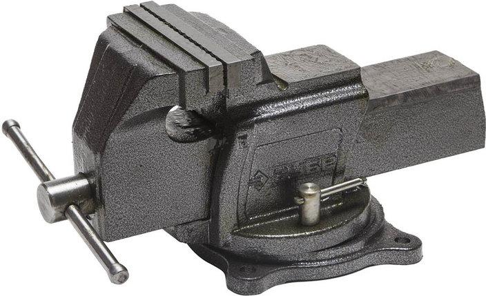 Тиски Зубр 150 мм,  индустриальные поворотные (32703-150), фото 2