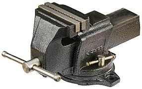 Тиски Зубр 125 мм,  индустриальные поворотные  (32703-125)