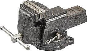 Тиски Зубр 100 мм,  индустриальные поворотные  (32703-100)