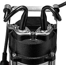 Насос фекальный погружной ЗУБР, для септика , 1500 Вт, 380 л/мин режущ. Механизм (НПФ-1500-Р), фото 3