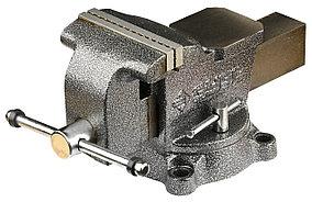 Тиски Зубр 125 мм,  слесарные поворотные (3258-125)
