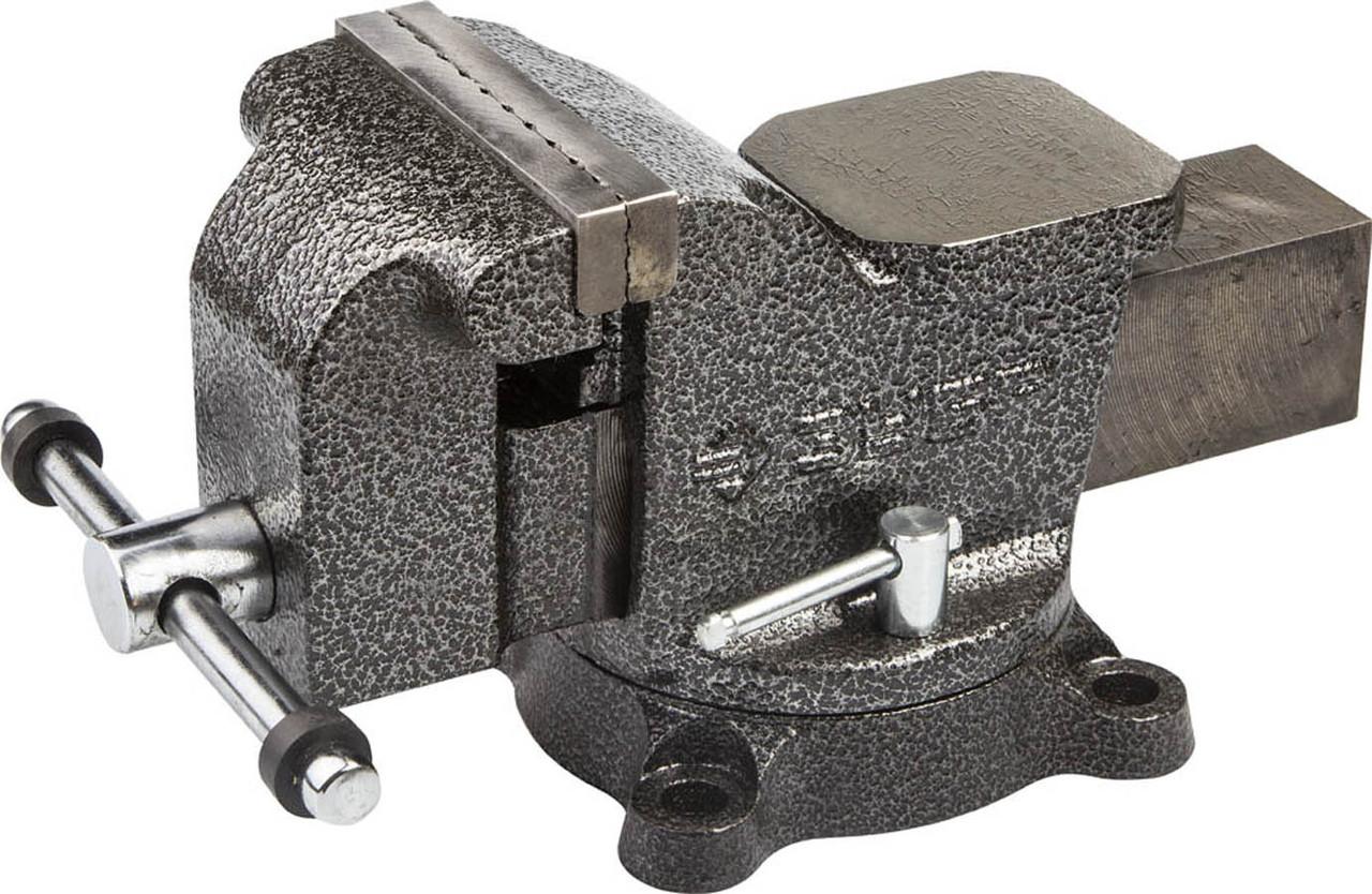 Тиски Зубр 100 мм,  слесарные поворотные  (3258-100)