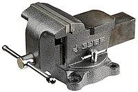 Тиски Зубр 150 мм, слесарные с поворотным механизмом (3258)