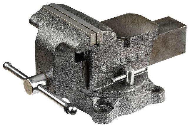 Тиски Зубр 150 мм,  слесарные с поворотным механизмом  (3258), фото 2