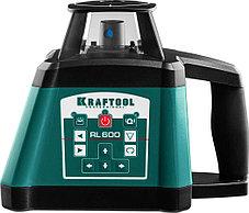 Ротационный лазерный нивелир Kraftool, 600 м, IP54, точн. 0,2 мм/м, сверхъяркий (34600), фото 2