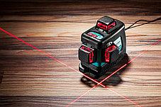 Нивелир лазерный Kraftool, 20-70 м, 360 градусов, (детектор), сверхъяркий, IP54, точн. 0,2 мм/м,(34640-4), фото 3