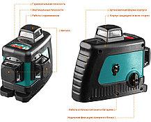 Нивелир лазерный Kraftool, 20-70 м, 360 градусов, (детектор), сверхъяркий, IP54, точн. 0,2 мм/м,(34640-4), фото 2