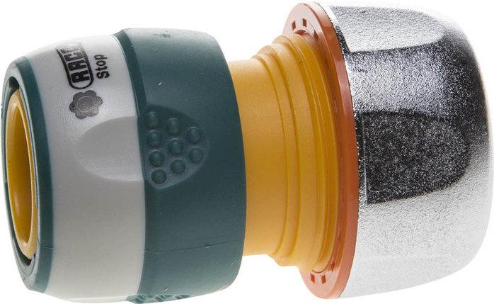 """Соединитель (шланг-насадка) Profi-Plus, Raco, Ø 3/4"""", пластиковый, автостоп (4247-55096B), фото 2"""