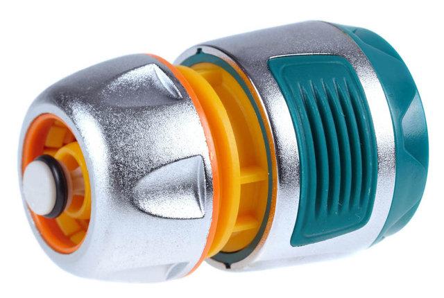 """Соединитель (шланг-насадка) Profi-Plus, Raco, Ø 1/2"""", пластиковый, автостоп (4247-55098B), фото 2"""