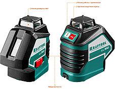 Нивелир лазерный Kraftool, 20-70 м, 360 градусов, (детектор), сверхъяркий, IP54, точн. 0,2 мм/м,  (34645-4), фото 2