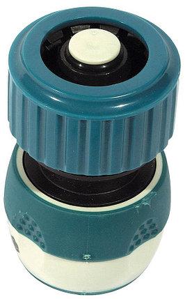 """Соединитель шланг-насадка Comfort Plus, Raco, Ø 3/4"""", 2-компонентный, автостоп (4248-55237C), фото 2"""