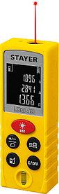 Лазерный дальномер Stayer, дальность 30 м, 5 функций (34956)