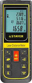 Лазерный дальномер Stayer, дальность 100 м, точность 2 мм (34959)