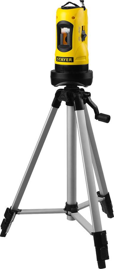 Нивелир линейный LaserMax SLL-2, Stayer, 10 м (34960-H2)