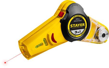Уровень с приспособлением для сверления Stayer, 7 м, точн. +/-1,5 мм/м (34987), фото 2