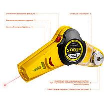 Уровень с приспособлением для сверления Stayer, 7 м, точн. +/-1,5 мм/м (34987), фото 3