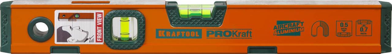 Уровень магнитный усиленный Kraftool, 400 мм (34575-040)