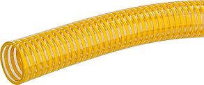 Шланг напорно-всасывающий, ЗУБР, 38 мм x 15 м, 480 гр/м, со спиралью ПВХ, 10 атм, серия Проф. (40327-38-15), фото 2