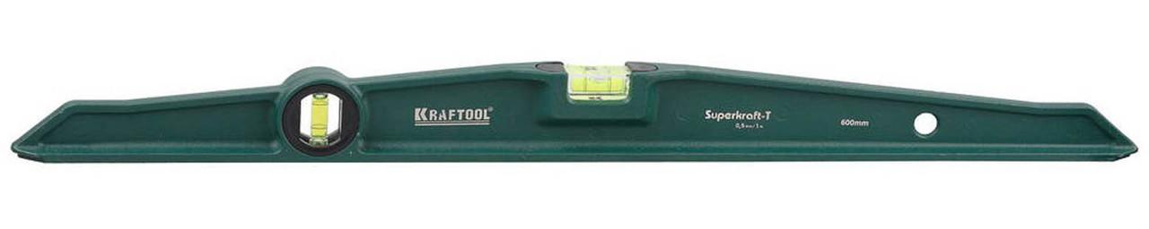 Уровень литой SUPERKRAFT-Т, Kraftool, 600 мм (34717-060)