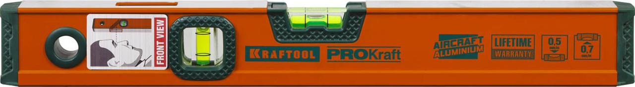 Уровень алюминиевый, Kraftool, 400 мм (34721-040_z01)