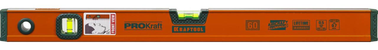 Уровень алюминиевый, Kraftool, 600 мм (34721-060_z01)