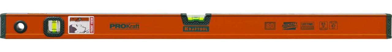 Уровень алюминиевый, Kraftool, 800 мм (34721-080_z01)