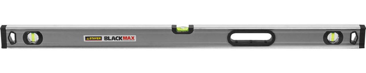 Уровень коробчатый усиленный BlackMax, Stayer, 1000 мм (3475-100)