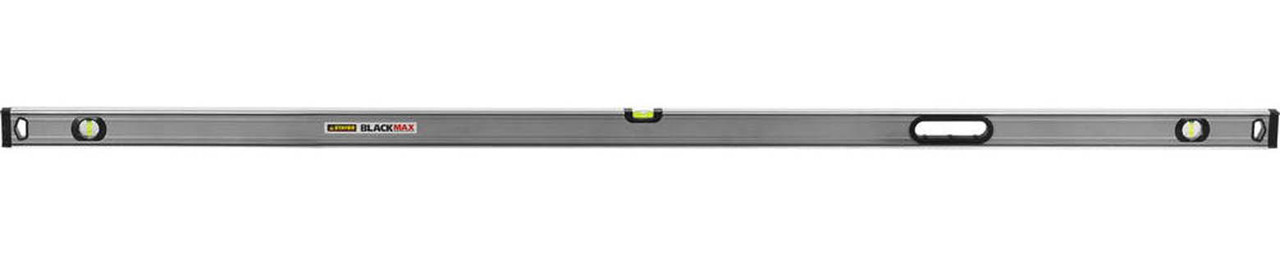 Уровень коробчатый усиленный BlackMax, Stayer, 2000 мм (3475-200)