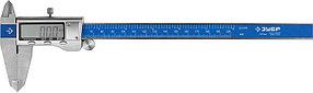 Штангенциркуль электронный ЗУБР, 200 мм (34463-200)