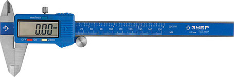 Штангенциркуль электронный ЗУБР, 150 мм (34465-150), фото 2