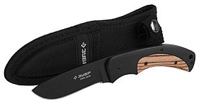 Нож туристический КОМАНДОР, ЗУБР, 215 мм/лезвие 90 мм (47740)