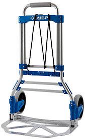 Тележка хозяйственная ЗУБР, максимальная нагрузка 90 кг, складная (38750-90)