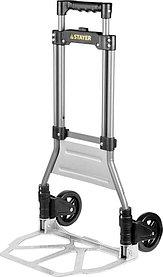 Тележка хозяйственная, Stayer, максимальная нагрузка 90 кг, раскладная (38755-90)