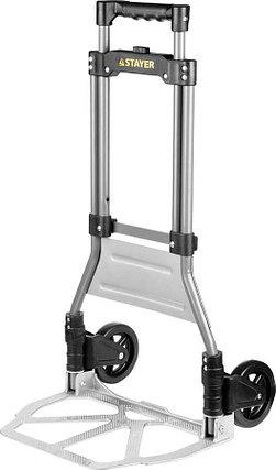Тележка хозяйственная, Stayer, максимальная нагрузка 90 кг, раскладная (38755-90), фото 2